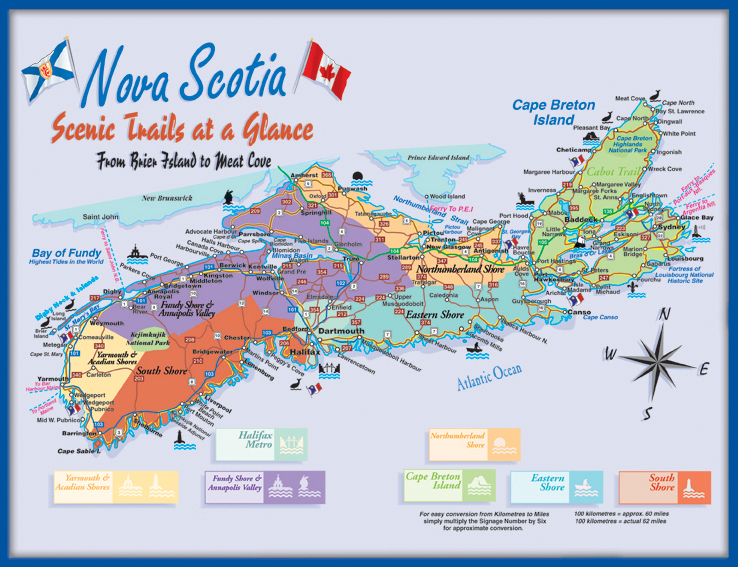 scenic trails of Nova Scotia