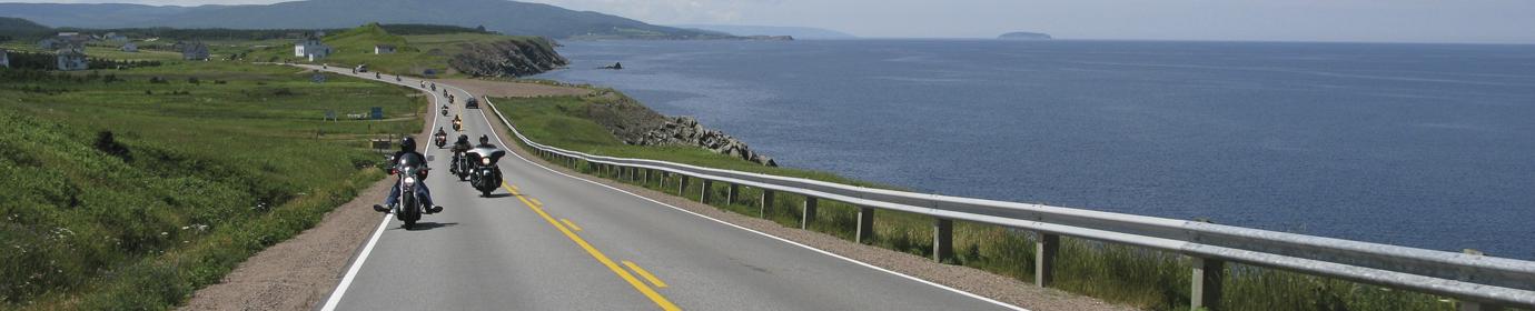 Motorcycle Tour Guide Nova Scotia & Atlantic Canada