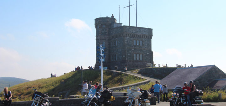 motorcycles at Signal Hill Historic Site