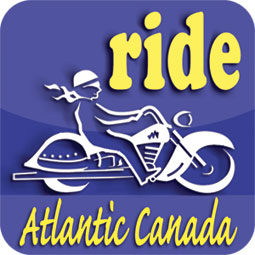 Logo for Ride Atlantic Canada travel app